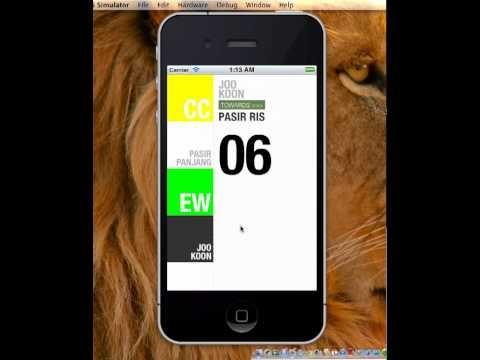 iPhone folding UI concept