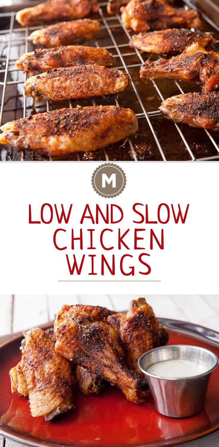 These are the best wings you can make without a deep fryer and maybe even with one! Fall off the bone tender and an awesome spice rub!