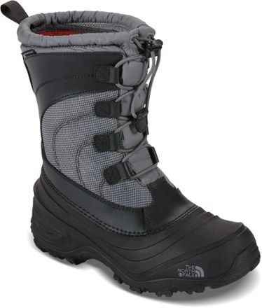 The North Face Alpenglow IV Insulated Boots Griffin Grey/Zinc Grey 11 Kids