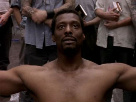 Eamonn Walker - in HBO's Oz