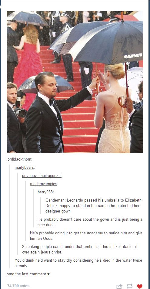 leo stop being such an awesome guy