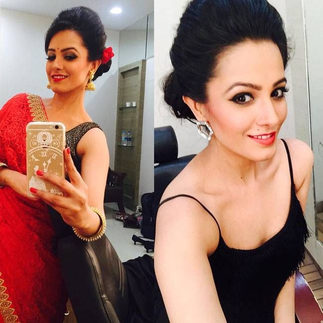 Anita Hassanandani posing for a #selfie. #Bollywood #Fashion #Style #Beauty #Hot #Instagram