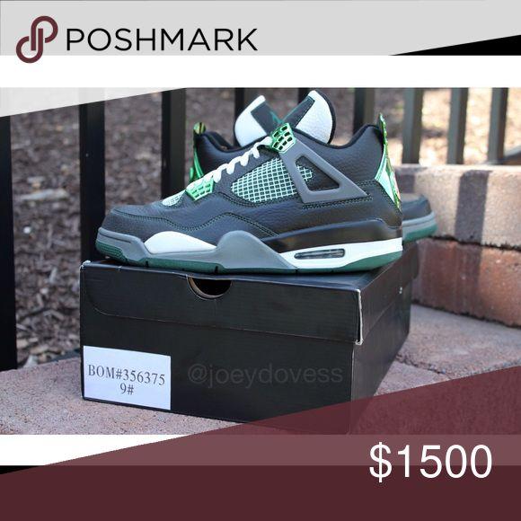 Air Jordan 4 Oregon Duck PE size 9 Worn 3x, 1 of 13 size 9s, rare Jordan Shoes Athletic Shoes