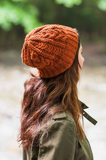 Bray Cap - a beanie with beautiful cables - knitting pattern by Jared Flood
