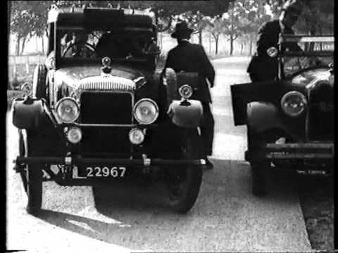 Victoria Police, 1920's style!