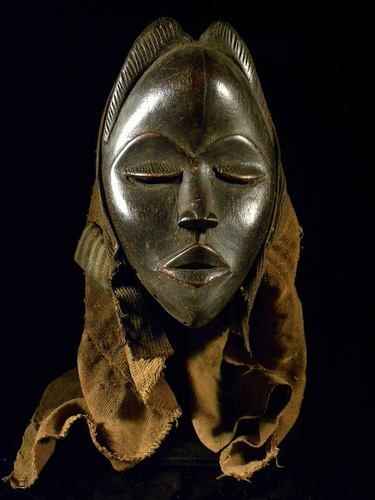 African Dan mask from Liberia (African-art-shop)