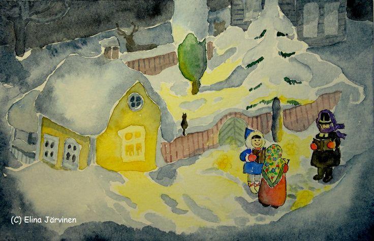 Christmas Eve's Devotion. By Elina Järvinen.