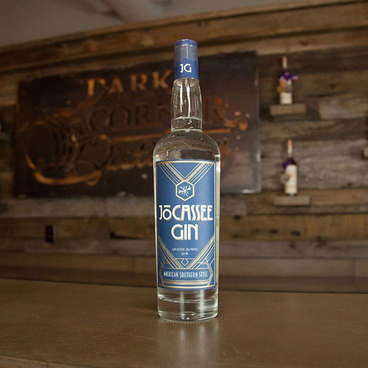 Jocassee Gin tasting at Dark Corner Distillery