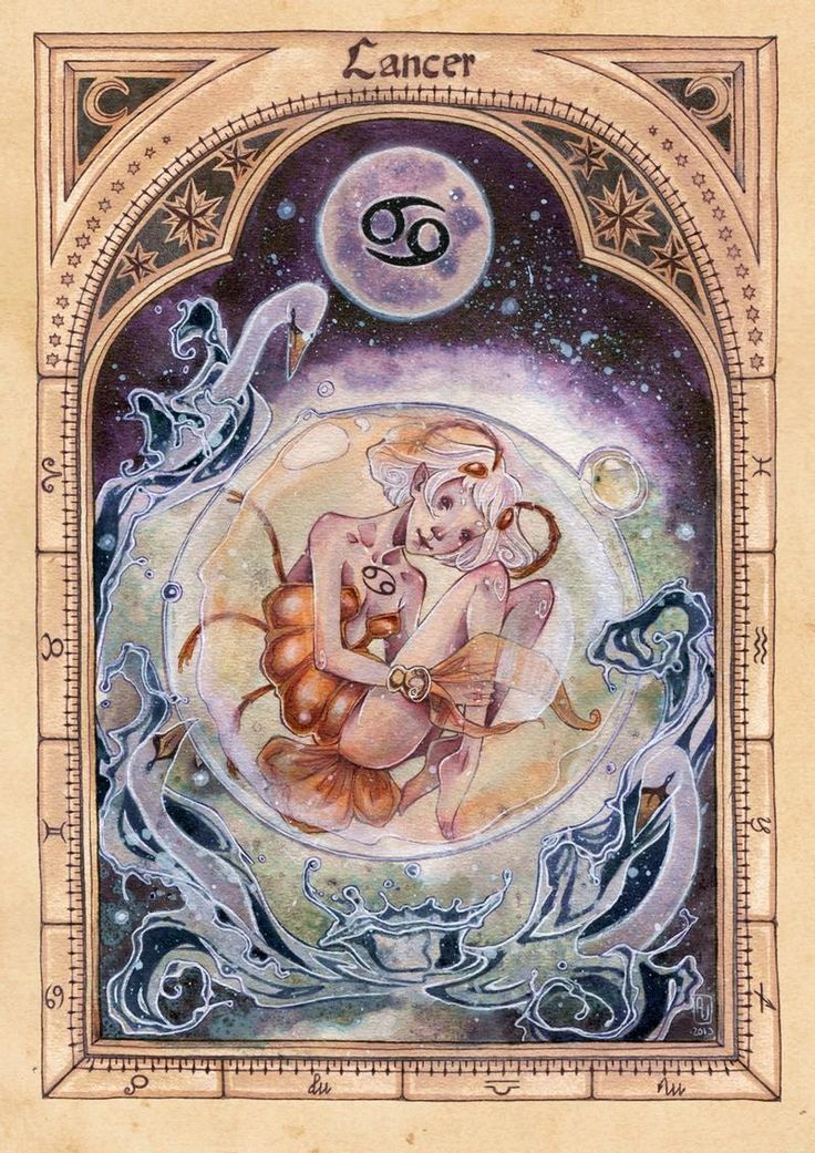 ZODIAC: Cancer by anja-uhren on DeviantArt Cancer Horoscope, Zodiac Horoscope, Cancer Astrology, Horoscope Tattoos, Horoscope Signs, Tarot, Astrology Signs, Zodiac Signs, Aquarius And Libra