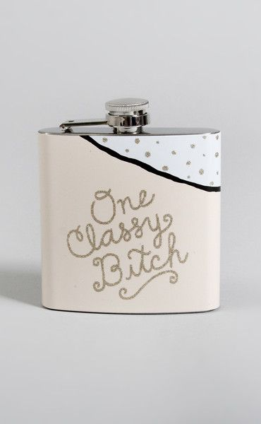 perfect flask for FORMAL! 15% off with code RIFFRAFFREPCASSIE + free shipping!
