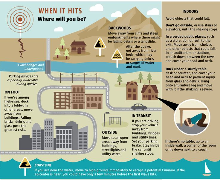 Get ready to rumble: A guide to earthquake preparedness | What to do when an earthquake hits - The Seattle Times