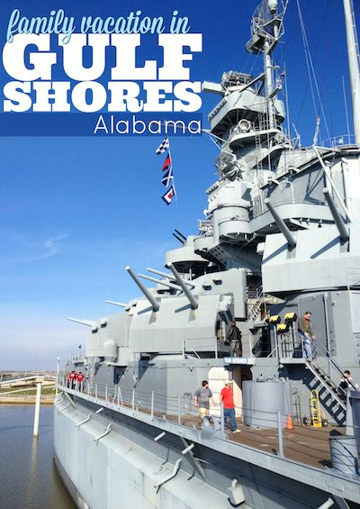 Family friendly attractions in and around Gulf Shores and Orange Beach, Alabama.