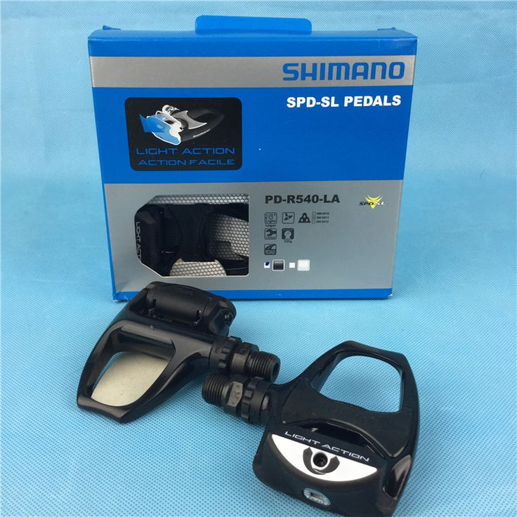shimano PD-R540-LA Road bicycle pedals bike self-locking peda light action road pedale della bicicletta pedals cheap bike parts