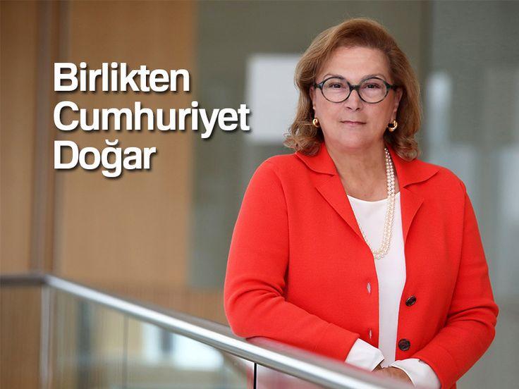 Sabancı Holding Yönetim Kurulu Başkanı Güler Sabancı, 29 Ekim Cumhuriyet Bayramı dolayısıyla bir kutlama mesajı yayımladı.