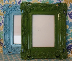 Beautiful Lacquered Frames  www.hungouttobuy.com