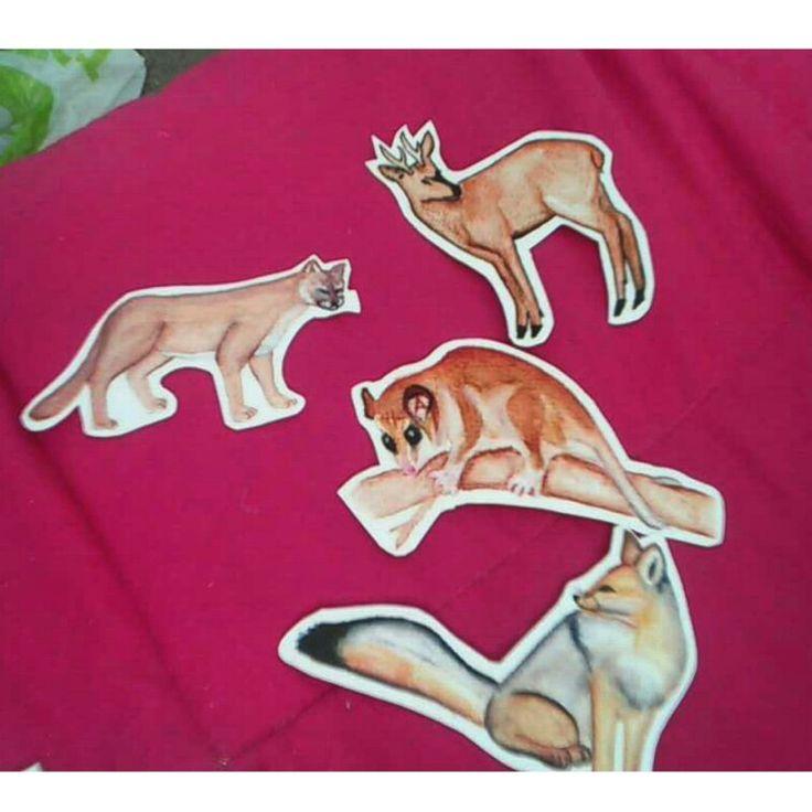 Sticker fauna Chilena
