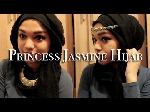 Princess Jasmine Inspired Hijab Tutorial