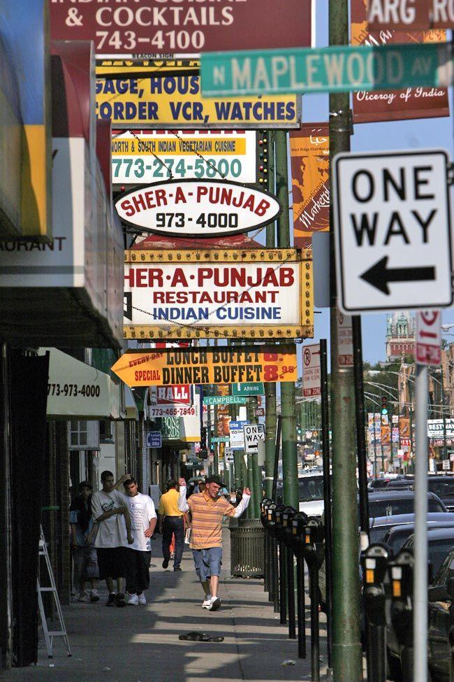 Little India Neighborhood Chicago IL Also Pakistan