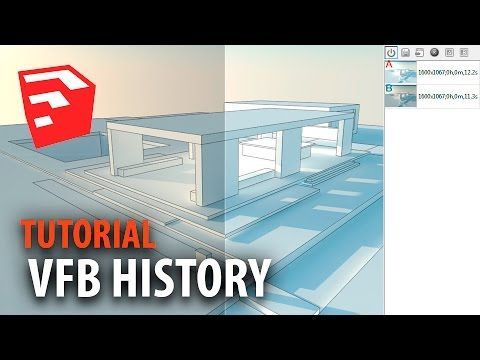 Curso SketchUp y VRay 03: VFB History