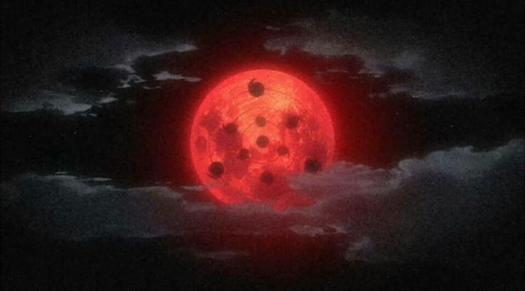 Infinite Tsukuyomi #red #moon | Anime, Samurai art, Madara ...
