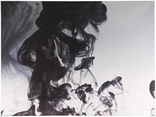Ink in Water Canvas - BoConcept (90x120cm)