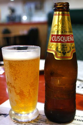 La bière du coin, elle est très bonne la cuzqueña #cusco #perou