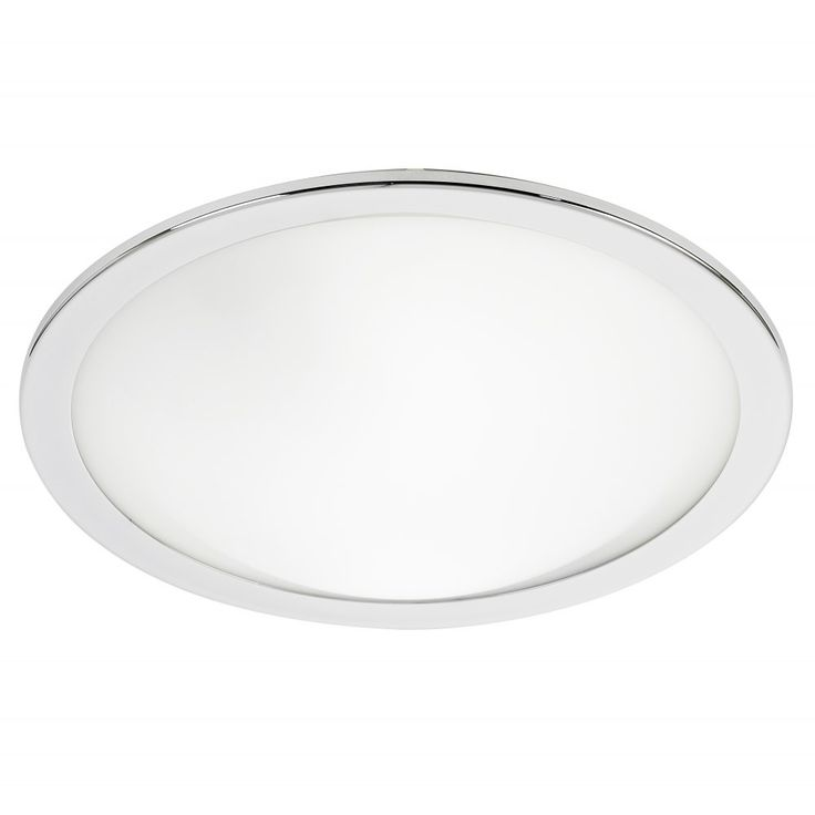 endon lighting enluce 2 light flush low energy bathroom fitting in satin chrome and opal glass