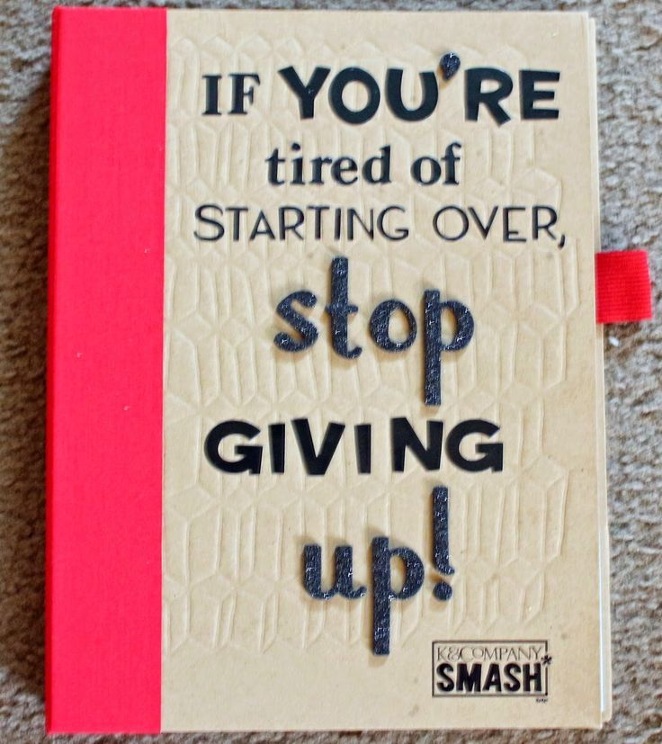Great use of a Smashbook, a Weight-Loss Journal! - Day to Day: Stop Giving up                                                                                                                                                                                 More