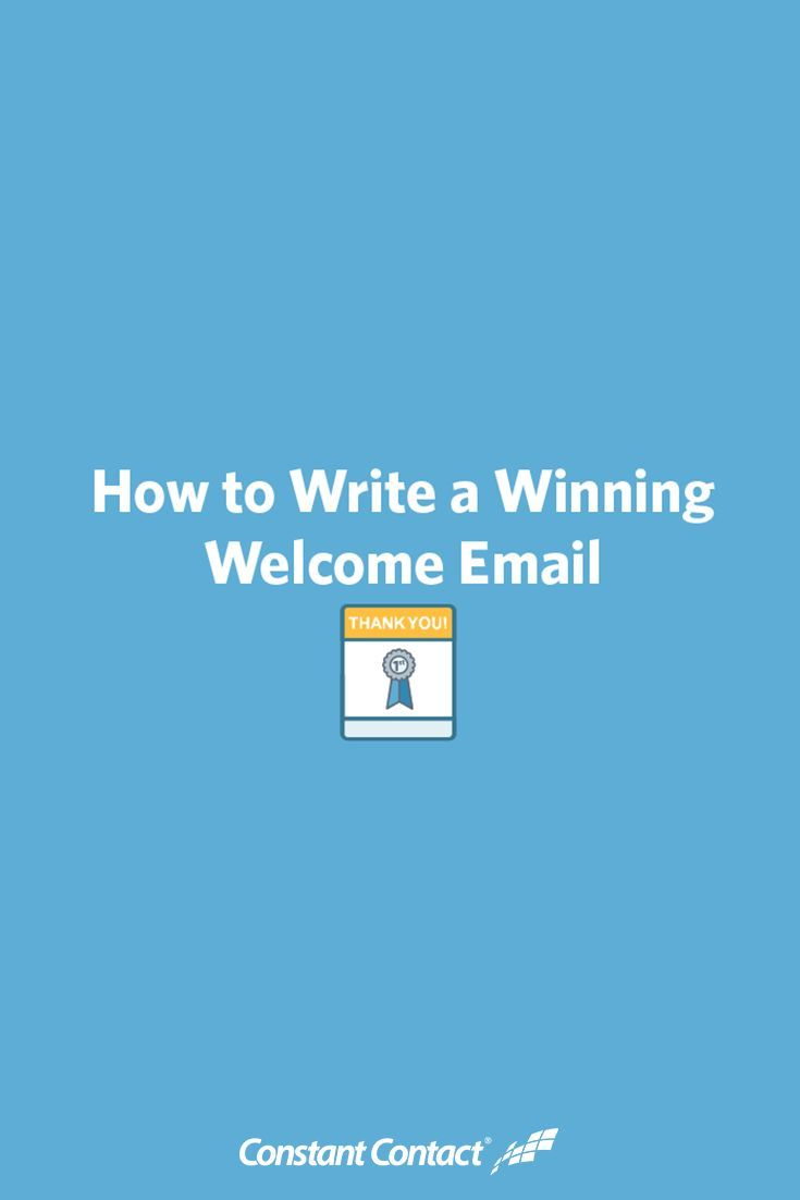 There are many types of emails you can send out to your subscribers, but the first campaign, typically known as the welcome email, is the most important.