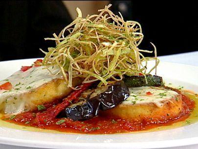 Free Form Polenta Lasagna Recipe : Food Network