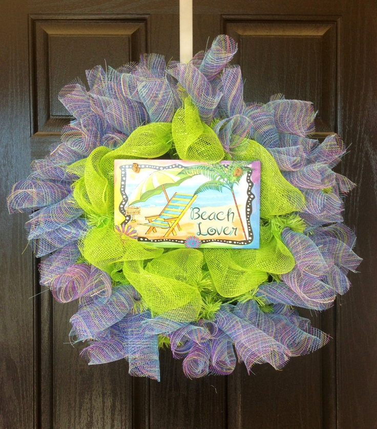Front Door Decorations For Spring | ... Wreath Spring Wreath Summer Wreath  Spring Break