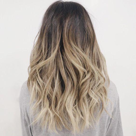 Mechas californianas e Ombré hair: Muitas fotos para inspirar!