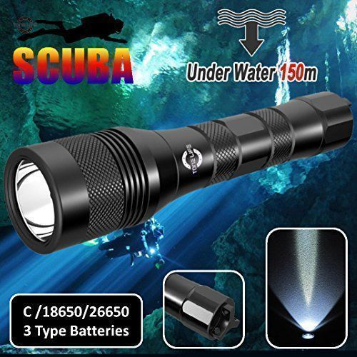 Tonelife TL3218 Diving Flashlight Scuba Diving Light 1000 LM Submarine Light 150M Waterproof Scuba Diving Equipment Scuba Safety Lights Diving Backup Light (Without Batteries) - http://scuba.megainfohouse.com/tonelife-tl3218-diving-flashlight-scuba-diving-light-1000-lm-submarine-light-150m-waterproof-scuba-diving-equipment-scuba-safety-lights-diving-backup-light-without-batteries/ #ScubaDivingEquipmentandSites