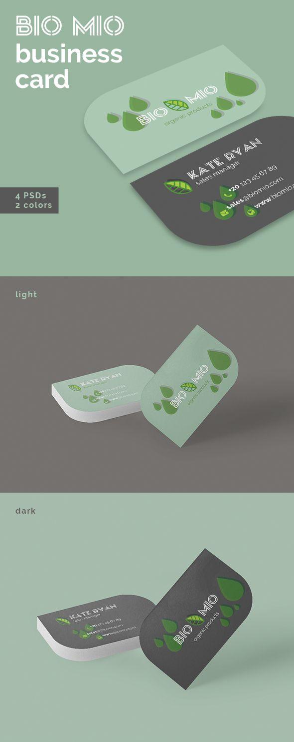 Bio Mio Business Cards Templates