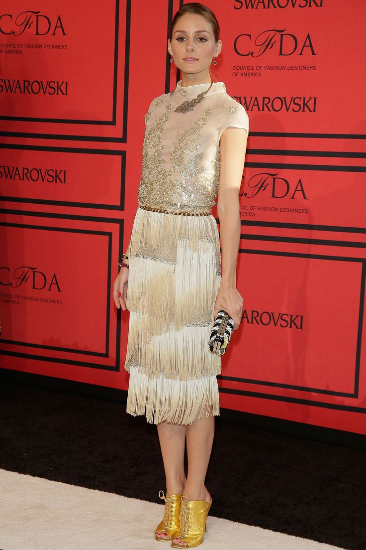 10. IT DOESN'T GET MORE ELEGANT THAN WEARING THE COLOR OF CHAMPAGNE. 2013 CFDA Fashion Awards   - TownandCountryMag.com