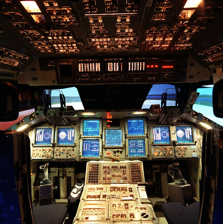 space shuttle flight deck - photo #13