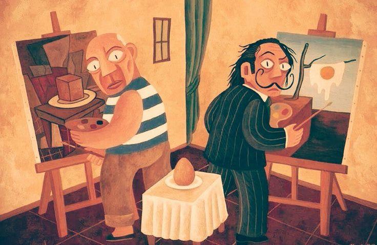 Picaso VS Dali - Perspective