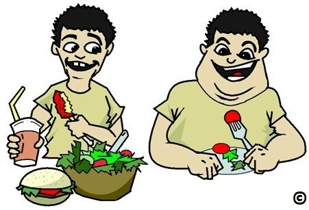 """Many fat children (and fat adults too), will tell you, """"I really don't eat THAT MUCH"""". To which the response is ........ """"Yeah..... right"""", but they are right.  Read more."""