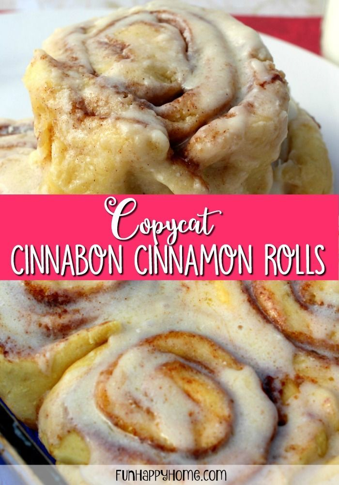 The Best Cinnamon Rolls You Ll Ever Eat With Images Cinnabon