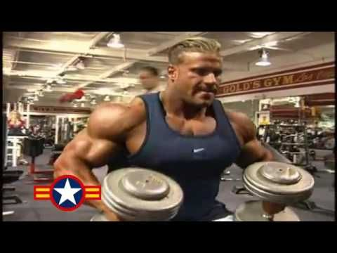 Jay Cutler Shoulders u0026 Arms Workout For 2001 Mr Olympia 2 - YouTube