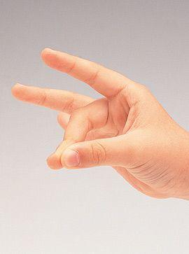 Fingerspiel: Erst kommt die Schnecke