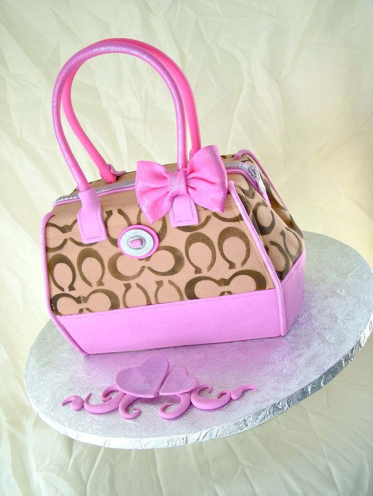 Coach purse cake..LOVE IT!!!!!!!!