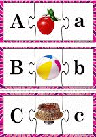 3-Piece Matching Puzzle - Alphabet
