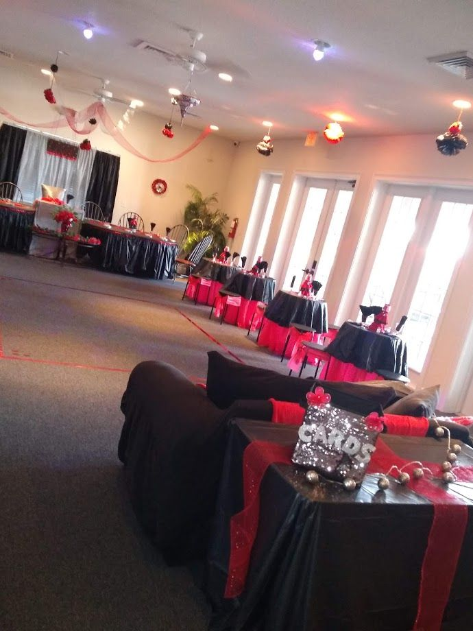 Pin By Art By Michelle Collins On Red Black Silver Sweet 16