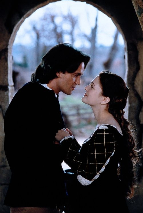 Scene from the movie, Ever After (1998), starring Drew Barrymore and Dougray Scott.