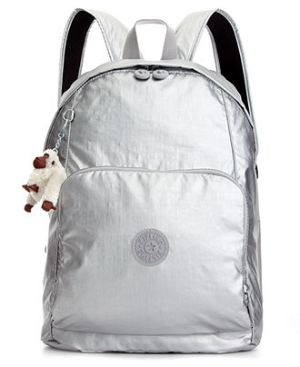 SEOUL METALLIC BACKPACK WITH LAPTOP PROTECTION