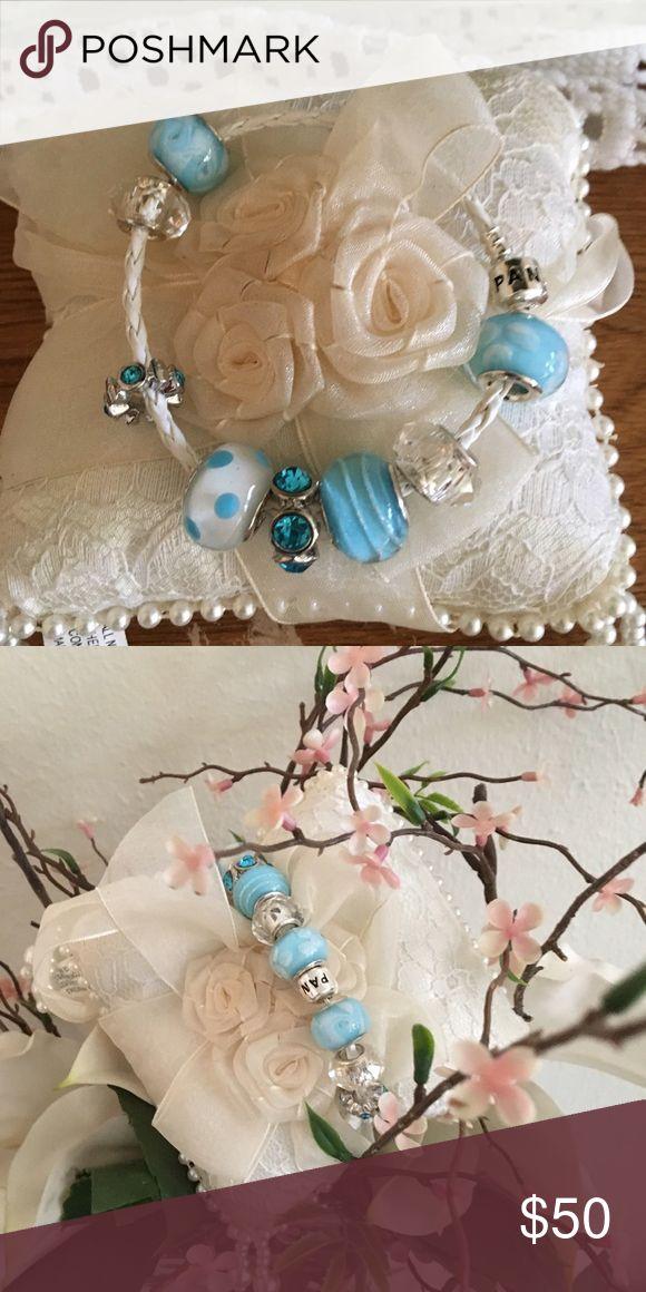 Pandora rope bracelet Charms included as well Pandora Jewelry Bracelets