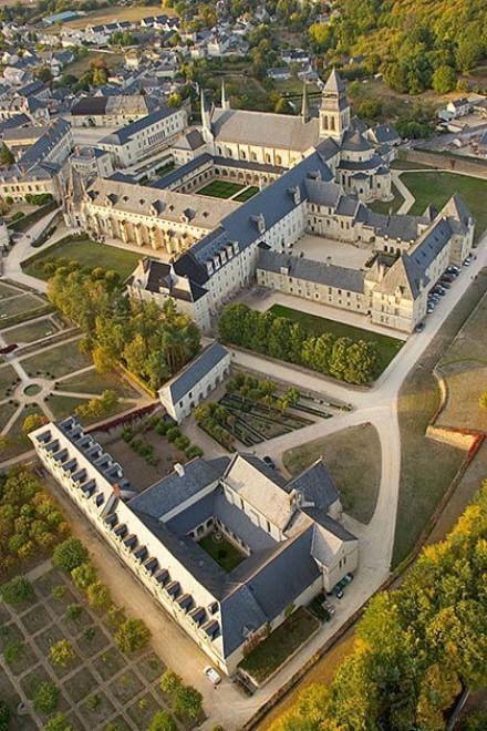 Monasteri di Fontevraud, Francia