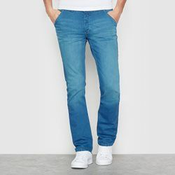 Jeans corte slim SOFT GREY - Jeans