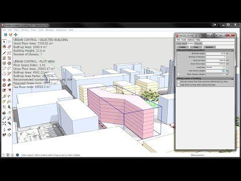 Modelur – Urban Design Software
